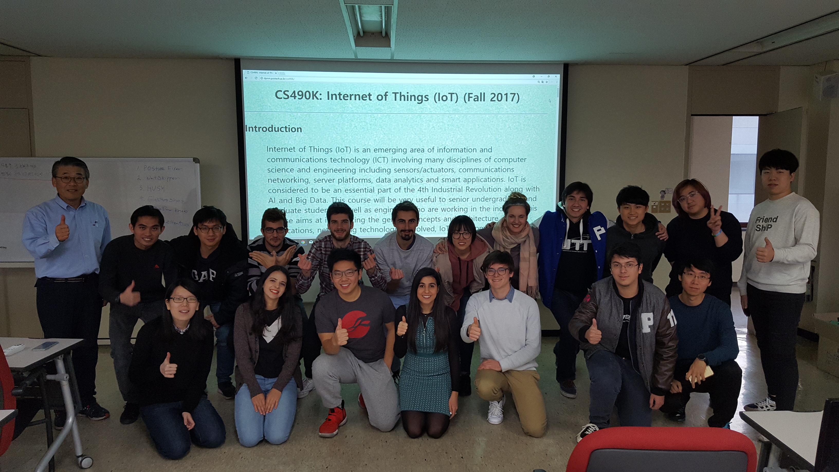 CS490K: Internet of Things (IoT)